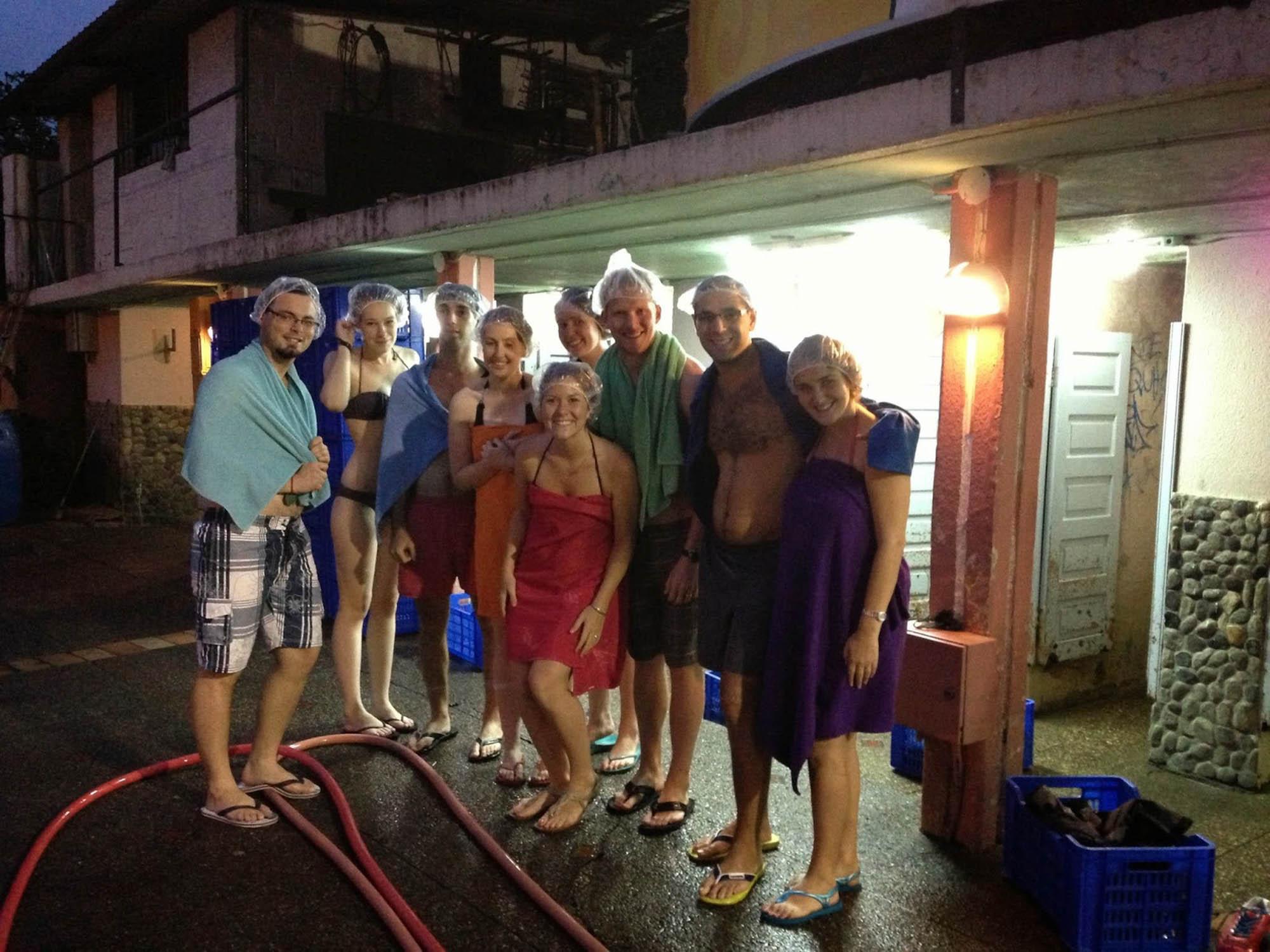 Hot Springs Banos Ecuador