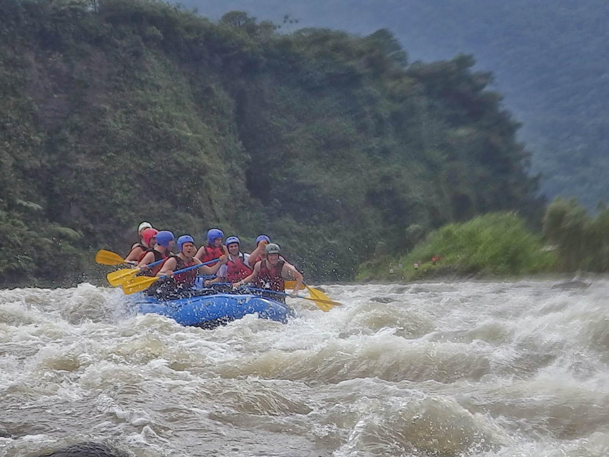 Whitewater Rafting Banos Ecuador