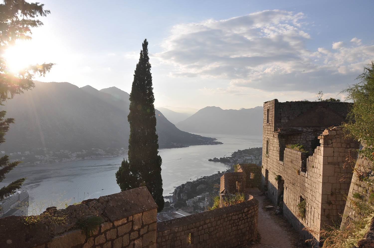 Hike to Fortress Bay of Kotor Montenegro Travel