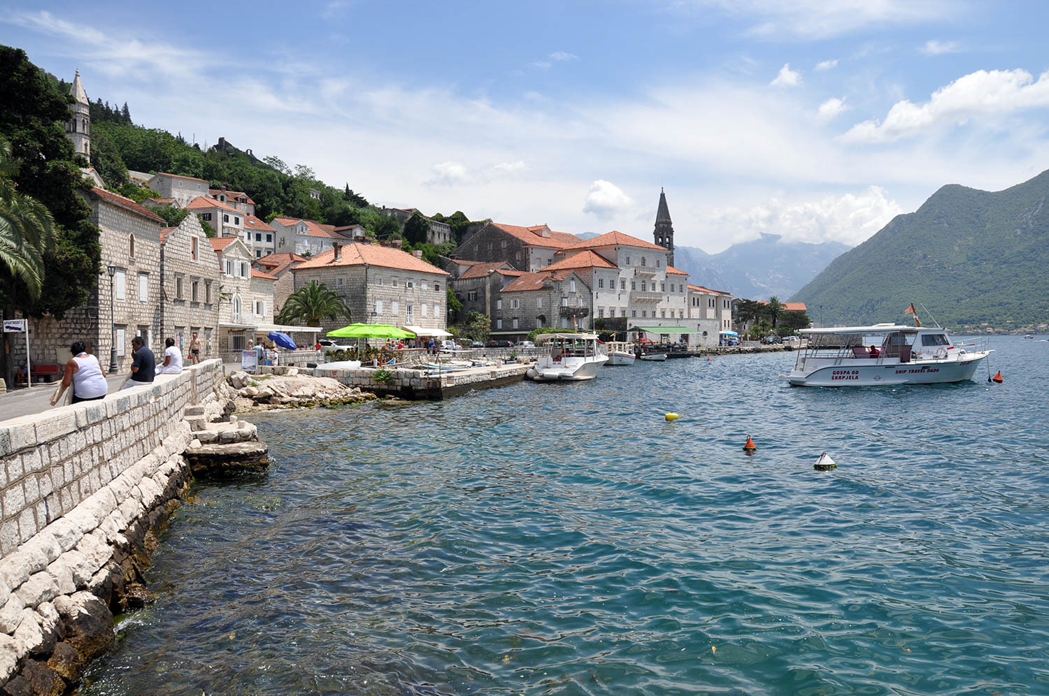 Perast Bay of Kotor Montenegro Travel