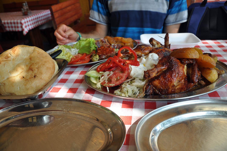 Chicken Meal Tanjga Family Restaurant Kotor Montenegro