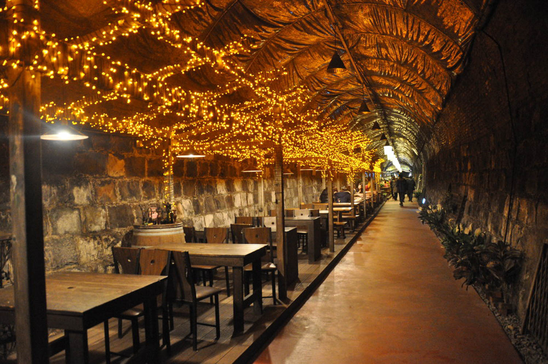 Persimmon Wine Tunnel Korea