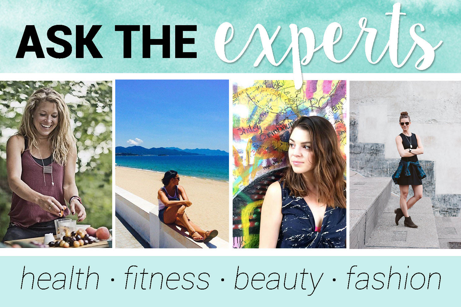 Ask the Experts: Health, Fitness, Beauty & Fashion While Traveling