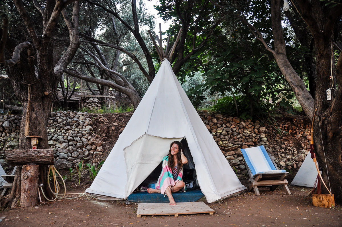 Teepee Tent Farayla Turkey Bucket List