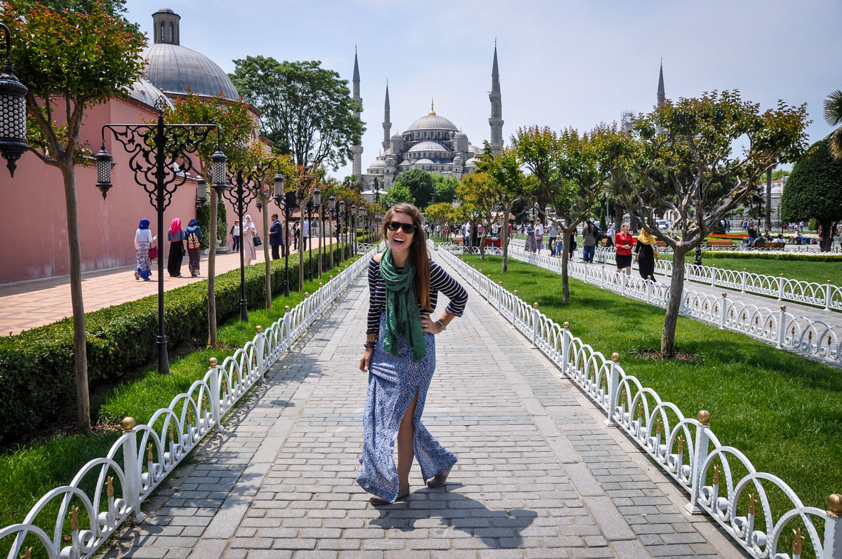Walking Tour of Istanbul, Turkey