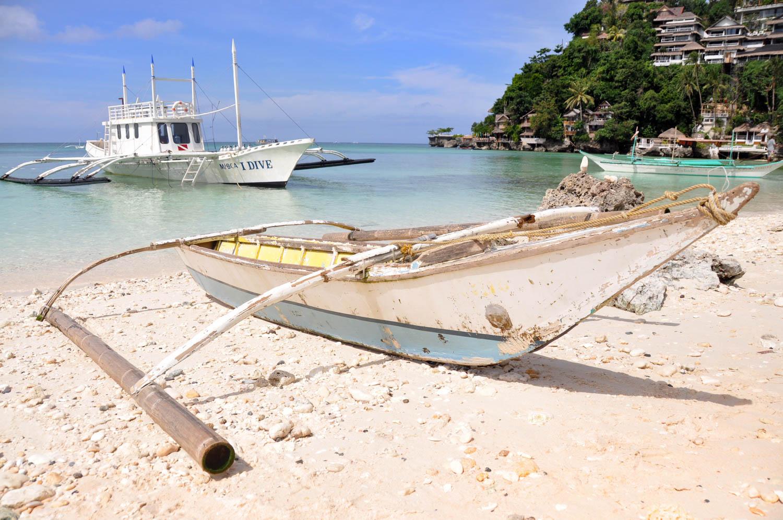 Boracay Boat rusty