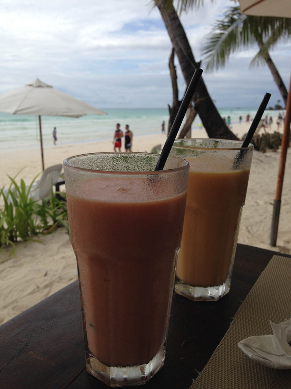 Boracay Fruit Shake