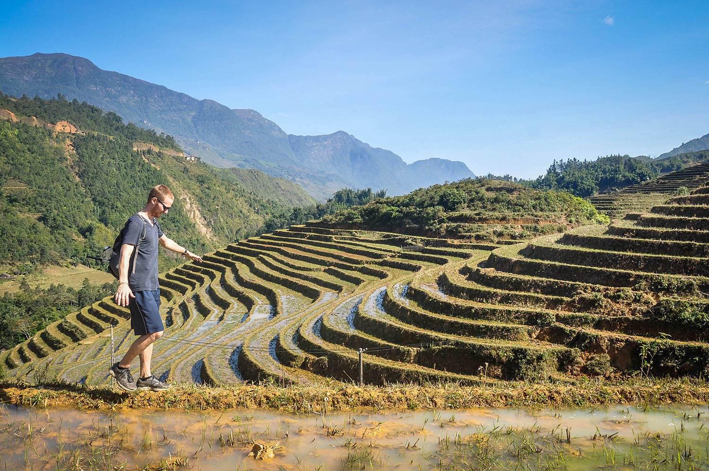Countries to Teach English Vietnam Rice Terraces