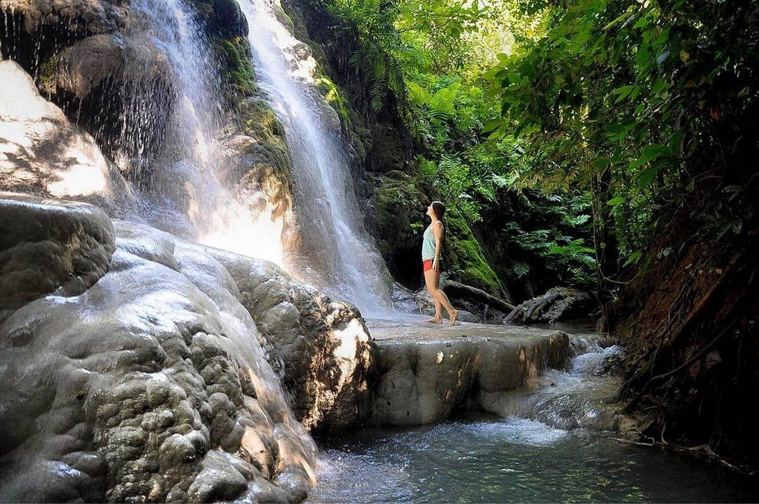 Sustainable Travel Tips Sticky Waterfalls Thailand
