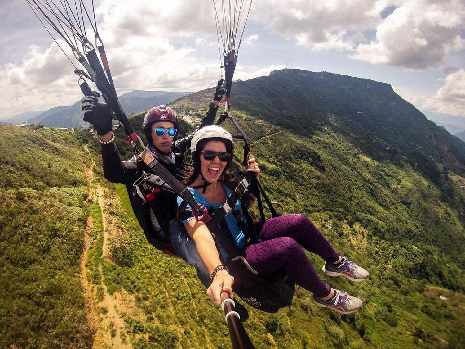 Sustainable Travel Paragliding Colombia