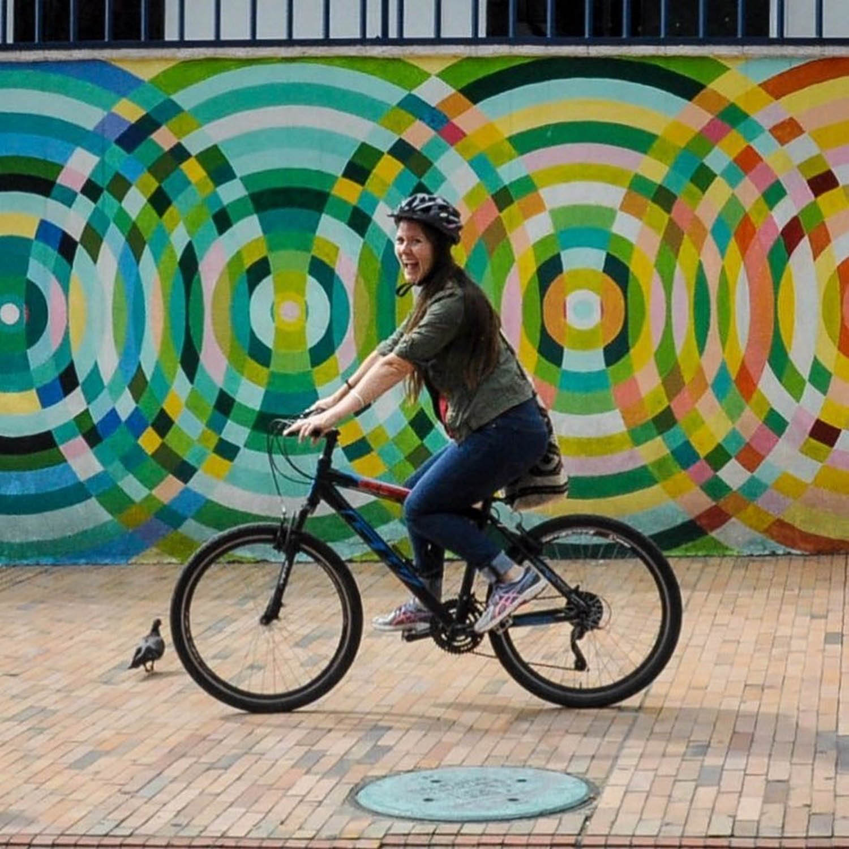 Sustainable Travel Biking Bogota Colombia