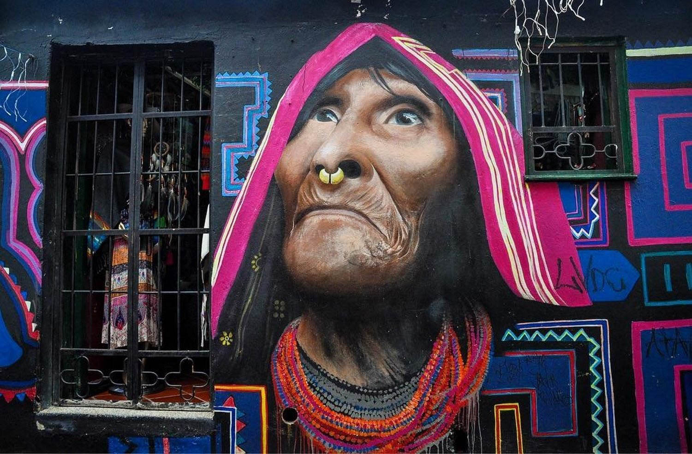 Sustainable Travel Street Art Bogota Colombia