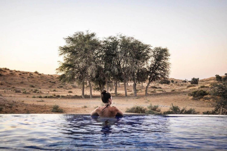 Ritz Carlton Pool Al Wadi Desert Ras Al Khaimah