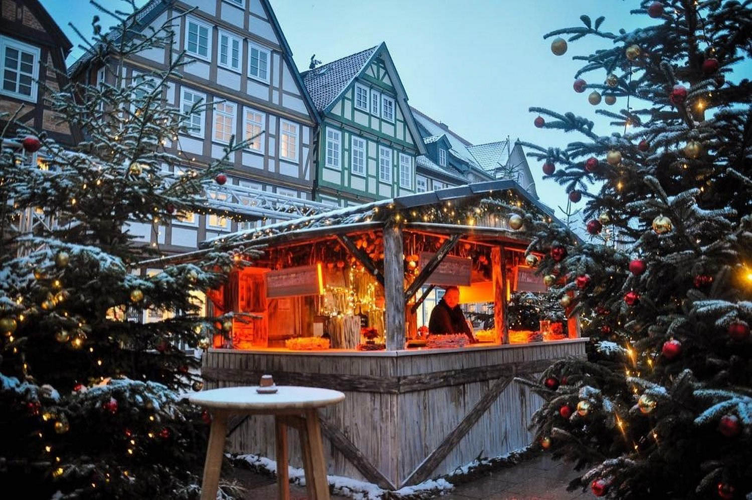 Celle Christmas Market Sustainable Tourism Germany
