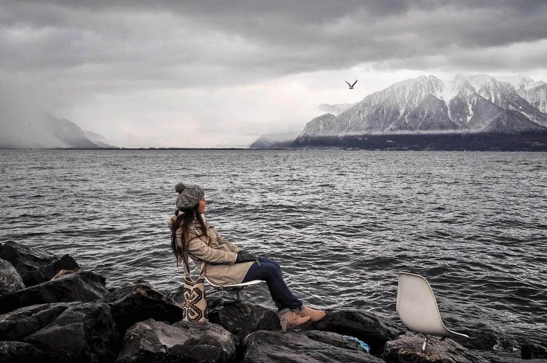 Vevey Switzerland Lake Geneva Winter Sustainable Tourism