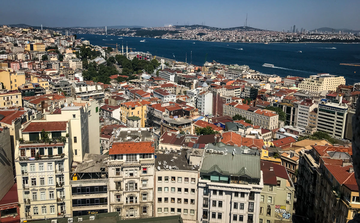 View from Galata Tower | Things to Do in Istanbul
