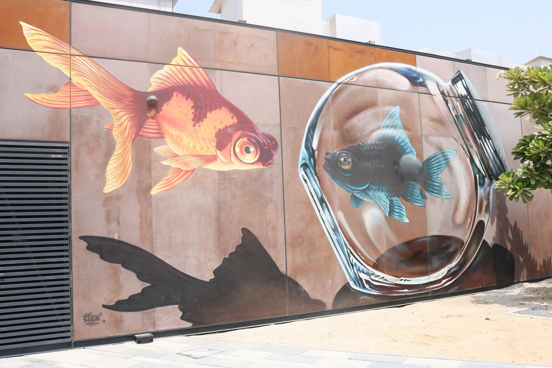 Dubai on a Budget La Mer Street Art