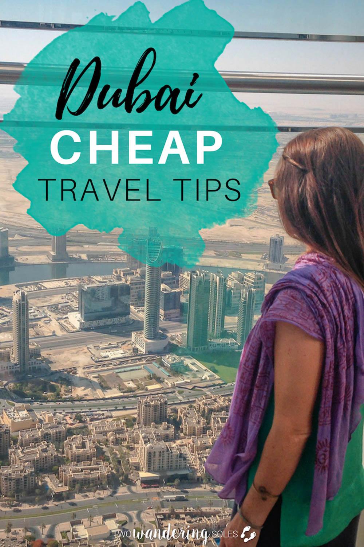 Dubai Cheap Travel Tips