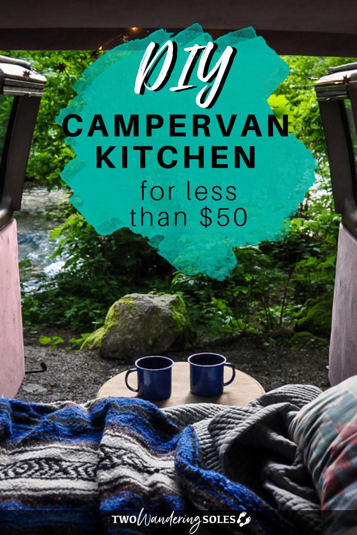 DIY Campervan Kitchen