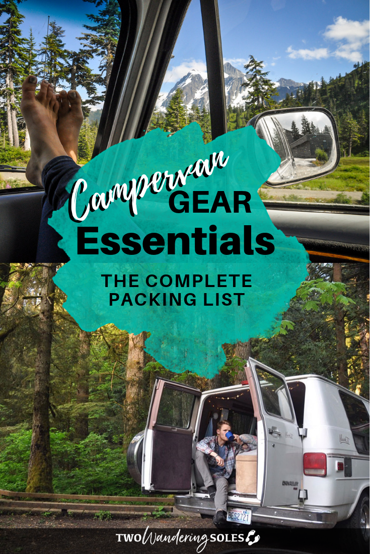 Campervan Gear Essentials