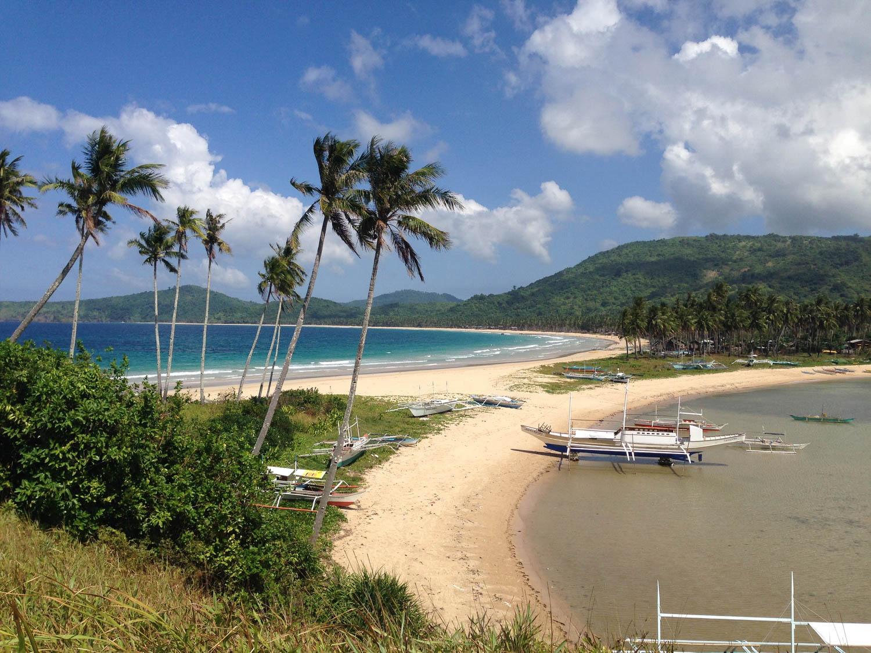 Palawan Philippines Nacpan Beach
