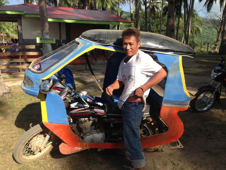 Edgar, our driver to Nacpan Beach