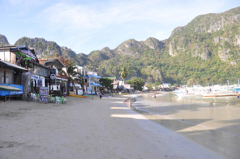 Philippines Palawan El Nido Beach
