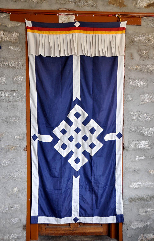 Nepali doorway