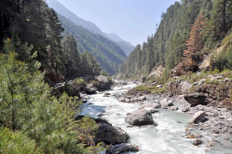 Stunning Himalayan scenery