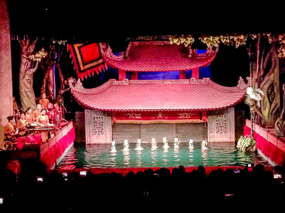 Things to Do in Hanoi | Water Puppet Theater Hanoi Vietnam