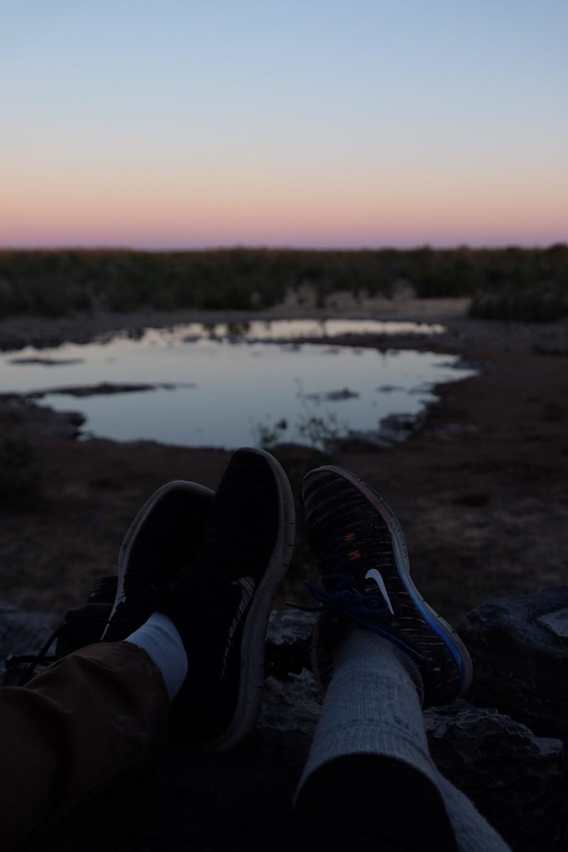 Things to Do in Namibia | Estosha National Park sundowner