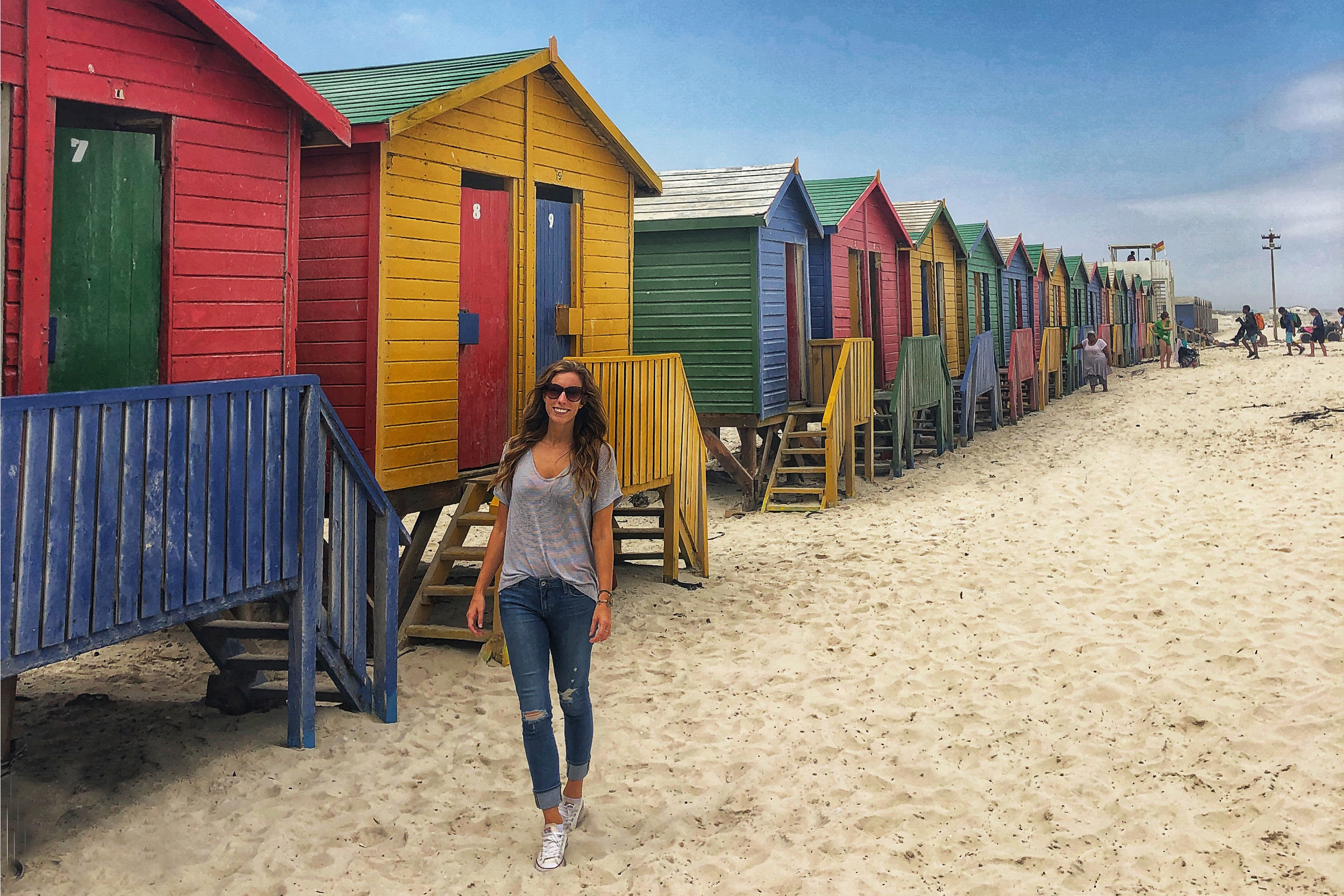 Things to do in Cape Town   Muizenburg Beach Huts
