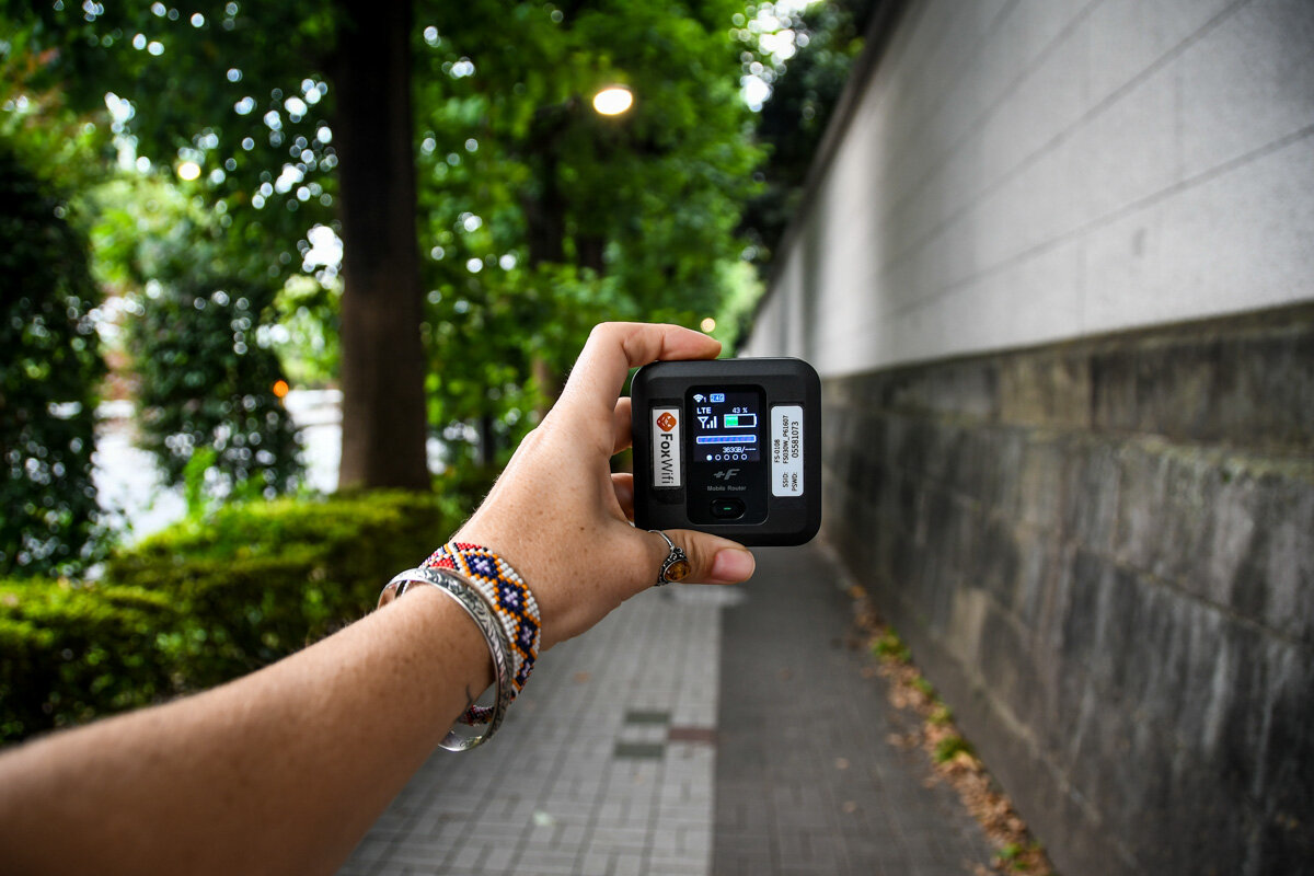 Japan Pocket Wifi Device