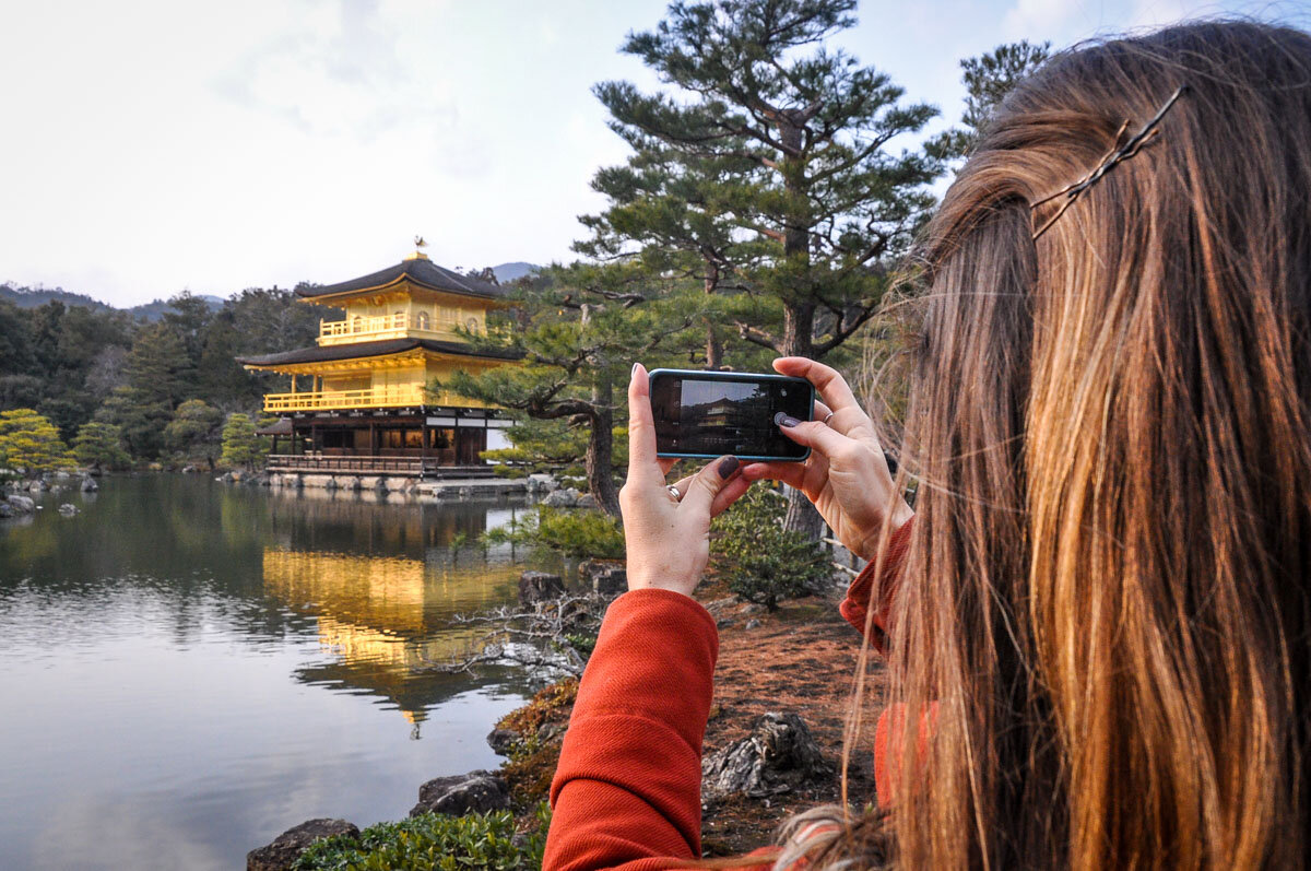 Japanese SIM Card Tourist Golden Temple
