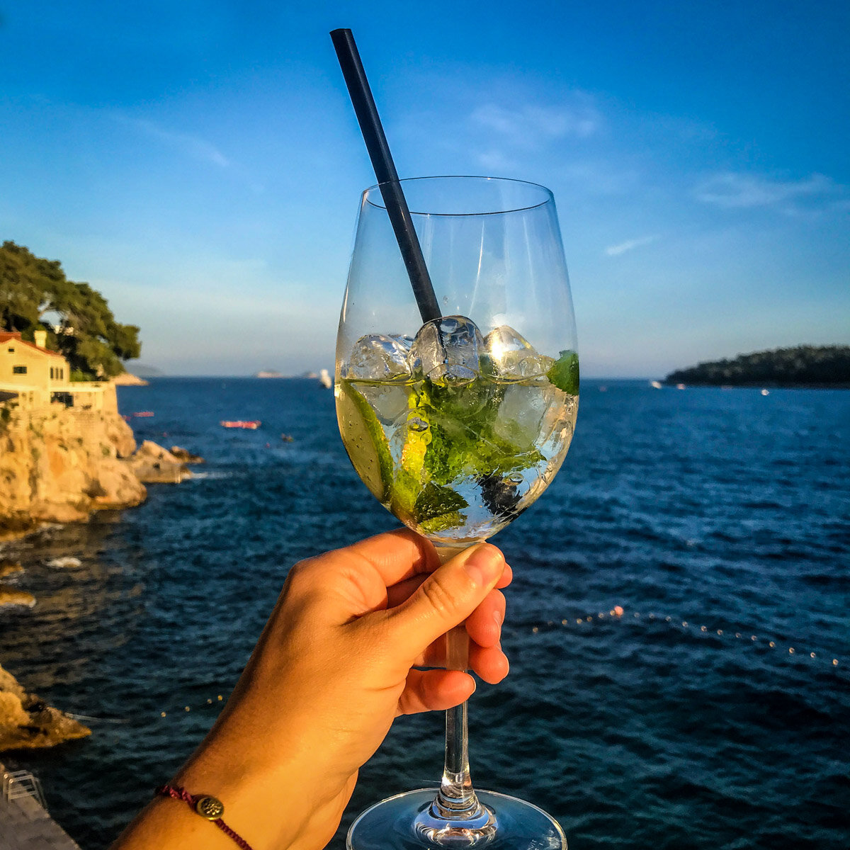 Things to Do in Dubrovnik | Happy Hour at Hotel Excelsior