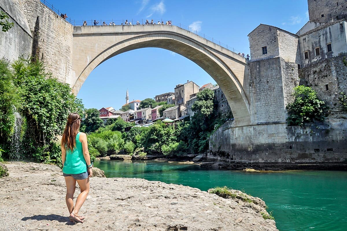 Things to Do in Dubrovnik | Stari Most Bridge in Mostar Bosnia