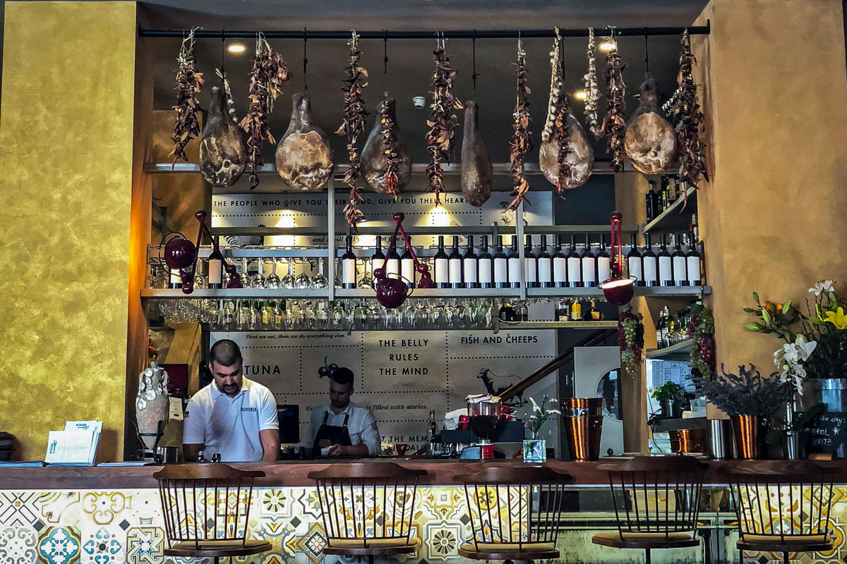 Where to Eat in Split Croatia | Bokeria Kitchen & Wine Bar