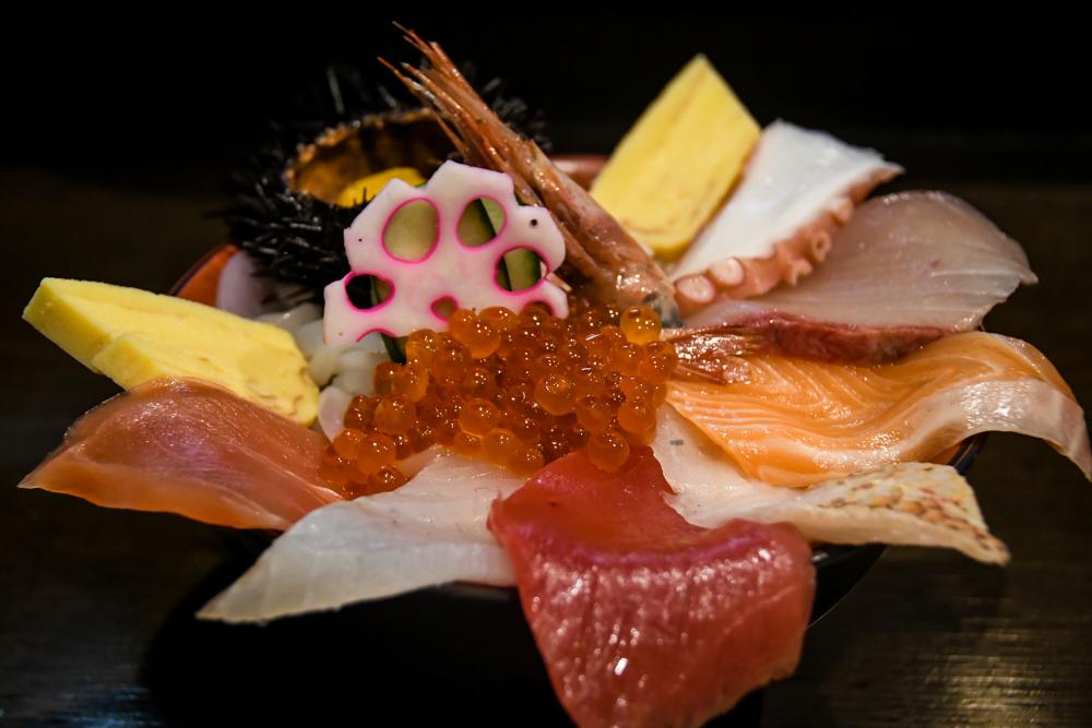 Japanese Food Kaisendon Kanazawa Fish Market