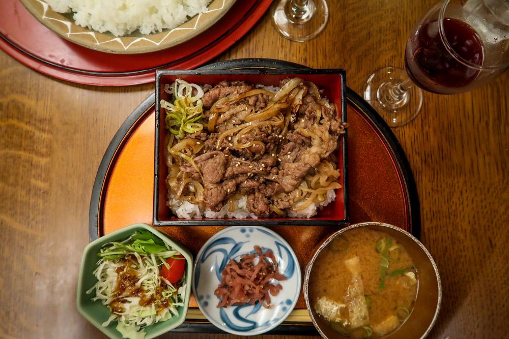 Japanese Food gyudon