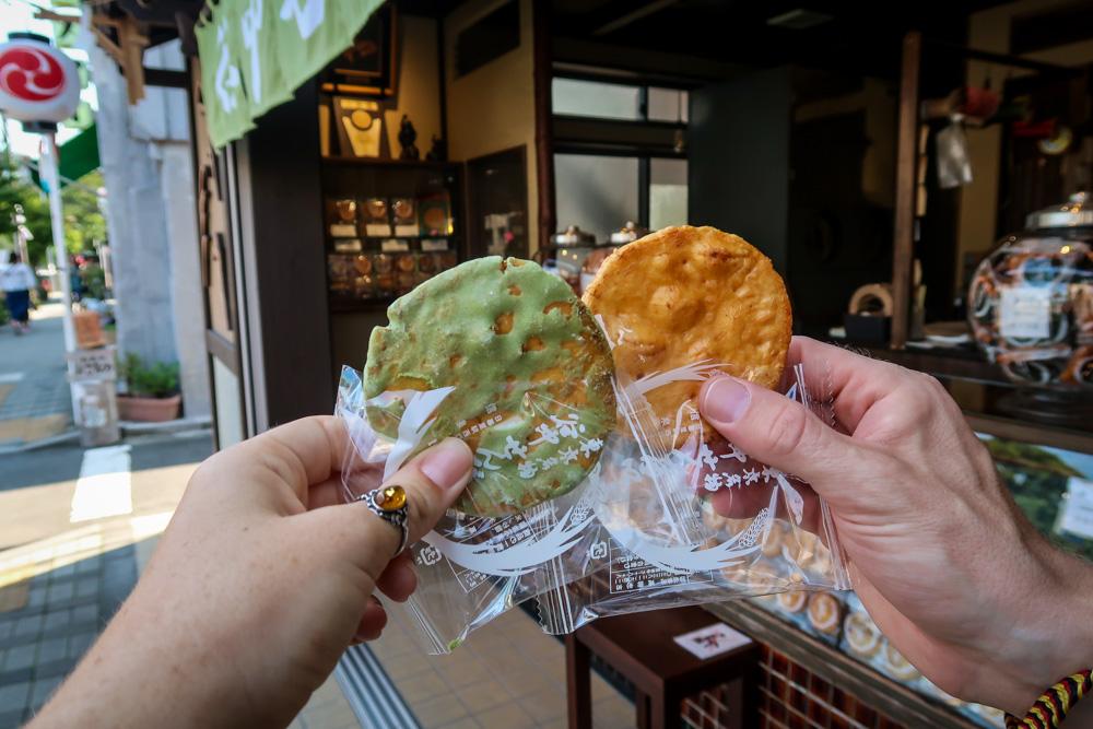 Japanese Food senbei