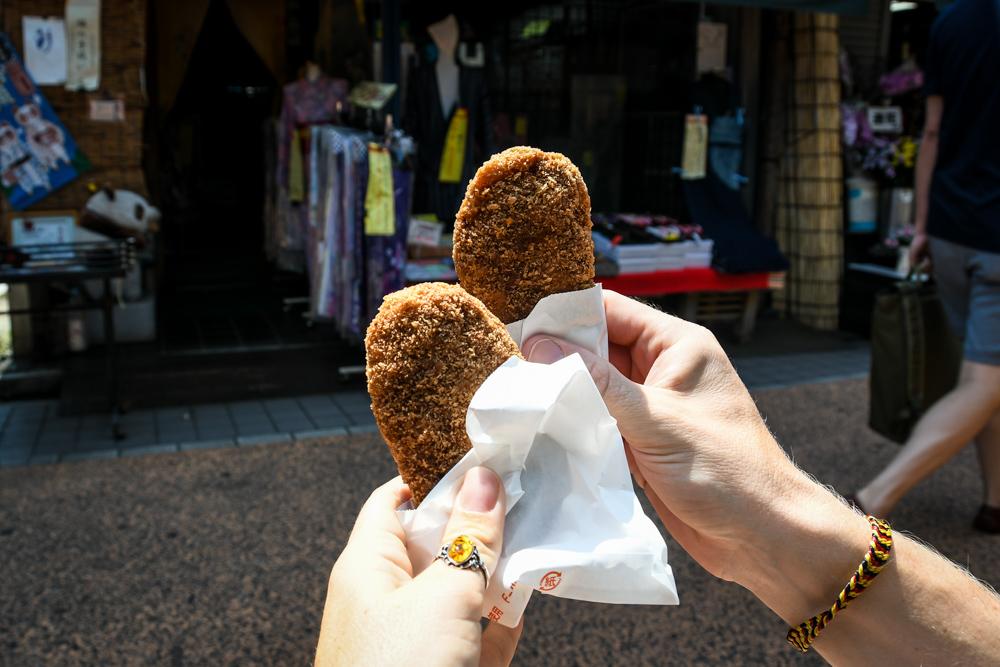 Japanese Food korokke
