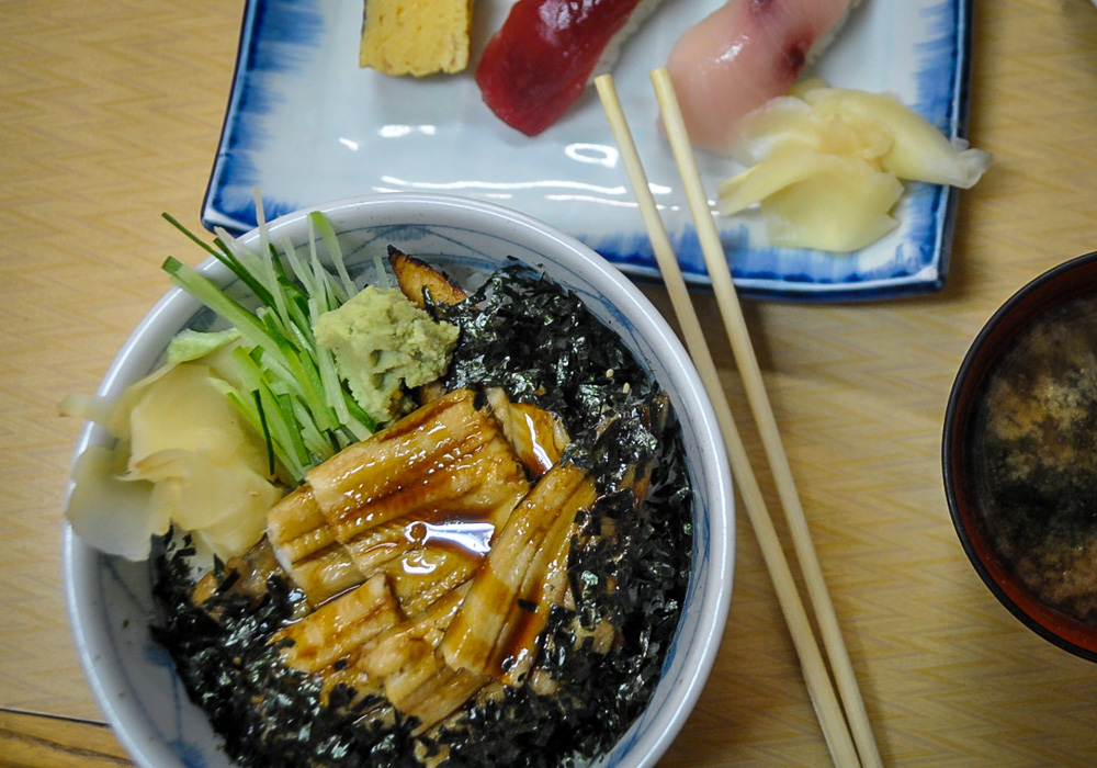 Japanese Food Unagi