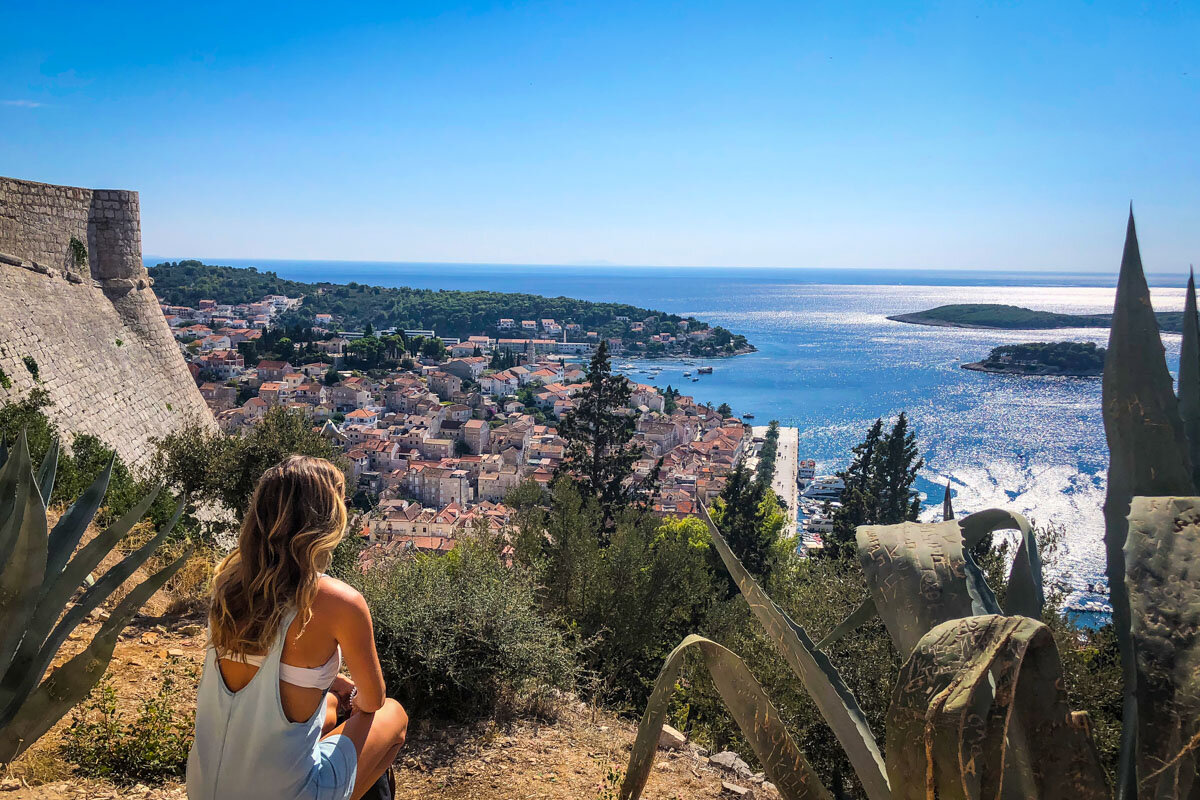 Things to Do in Hvar | Hike to the Spanish Fortress