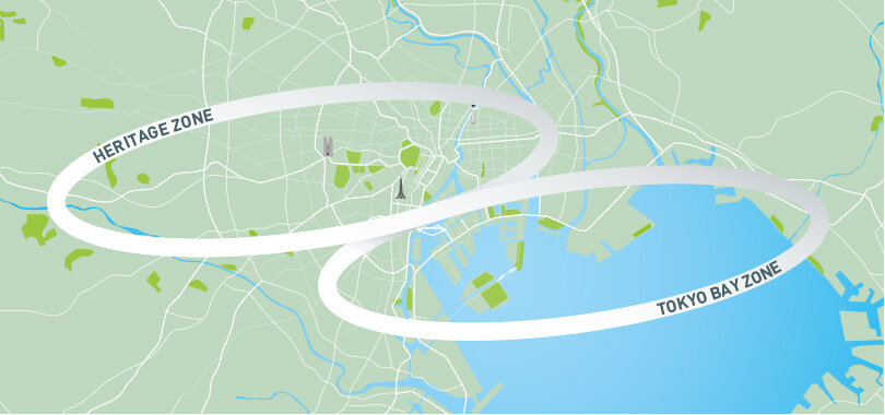 Tokyo 2020 Olympic Zones Map | Image from the official 2020 Olympics website