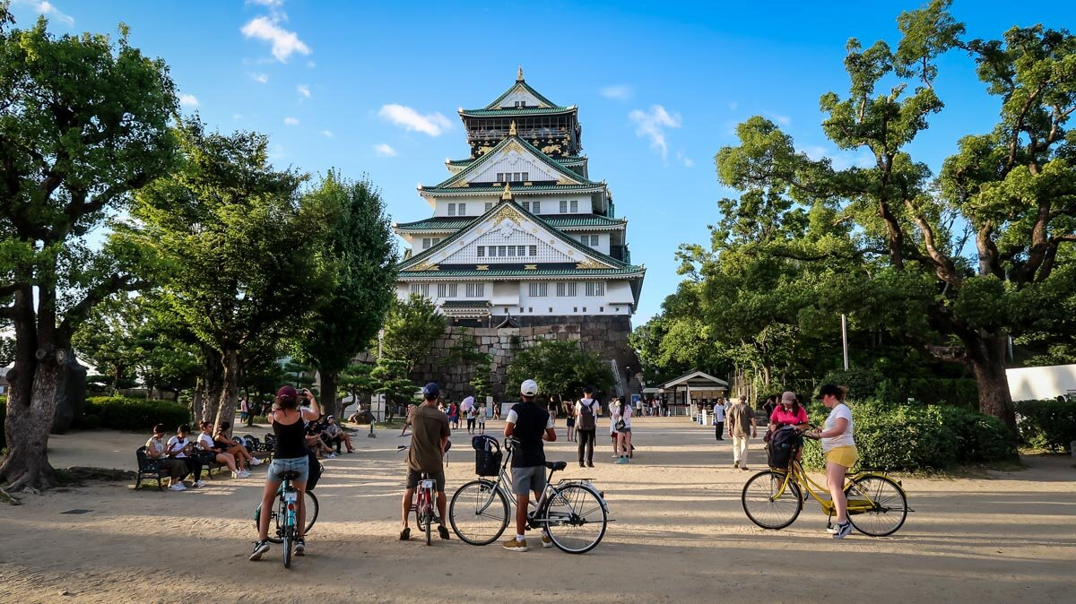 Things to Do in Osaka Rent a bike
