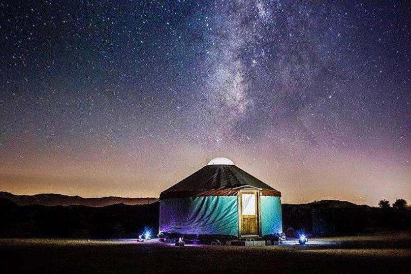 Unique Airbnb Options   Yurt in Joshua Tree