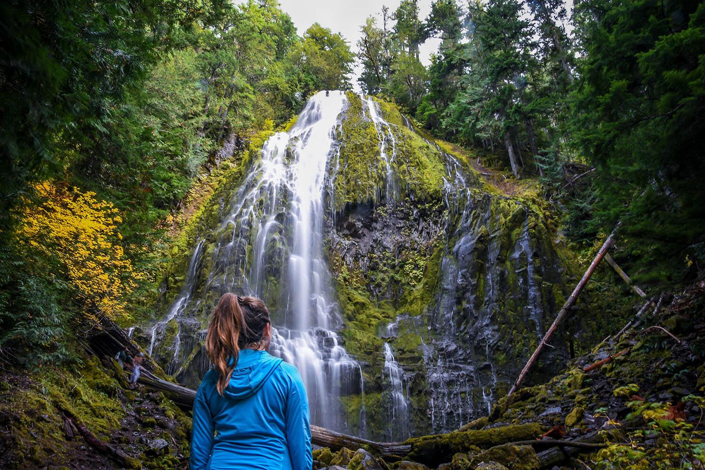 Waterfall Oregon Travel Blog Income Report