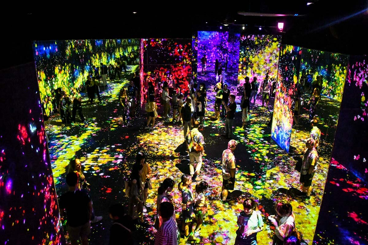teamLab Borderless Tokyo Guide Forest of Flowers and People