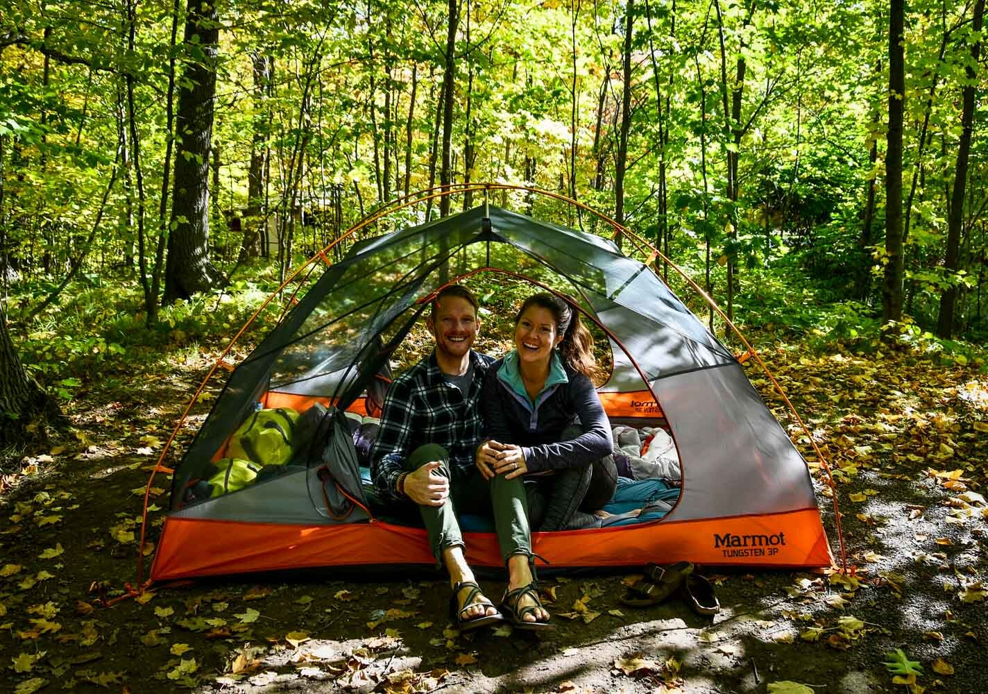 Travel Blog Income Report Q3 Autumn Camping