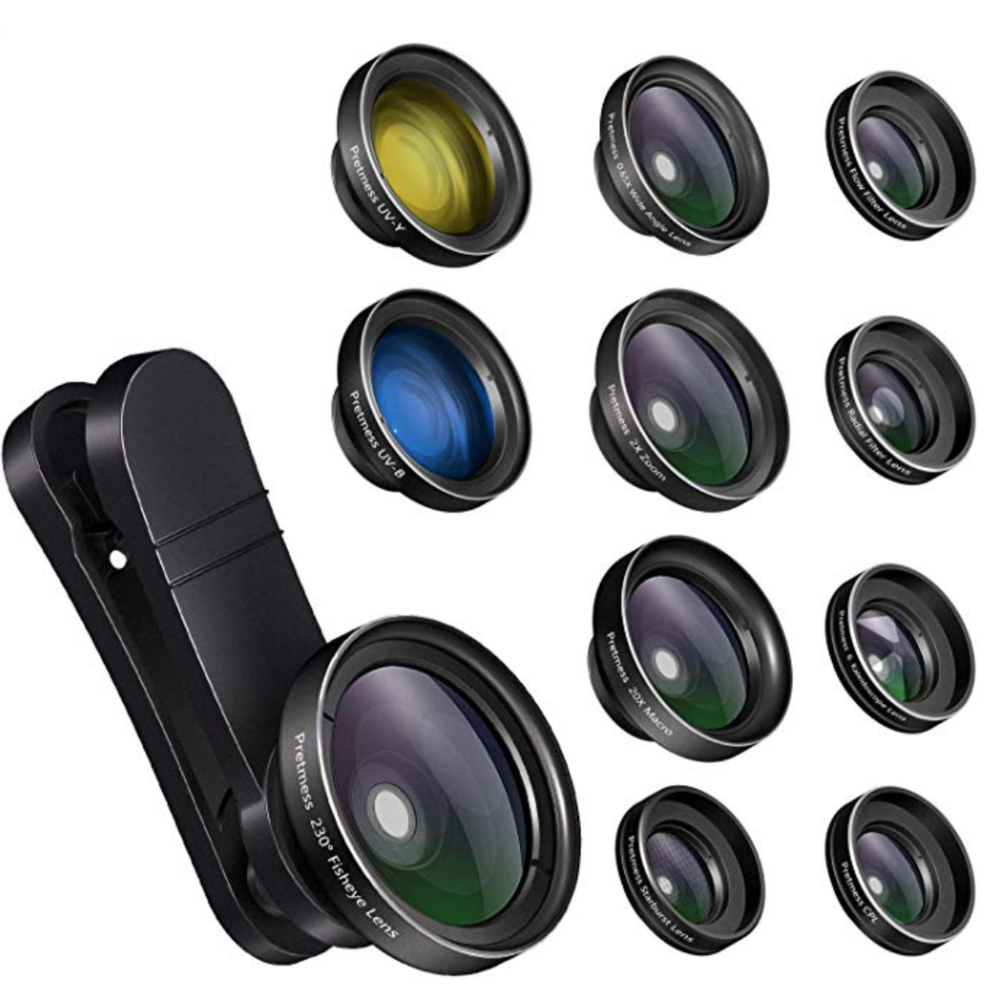 Unique Travel Gifts | iPhone Lens Kit